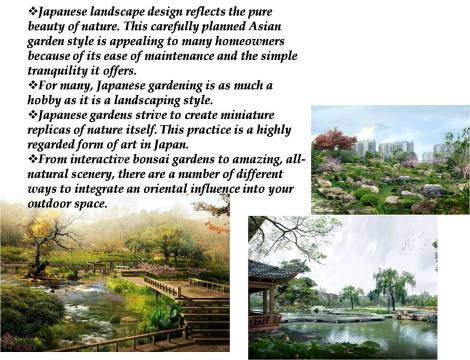 • The Art of Japanese Landscape Design