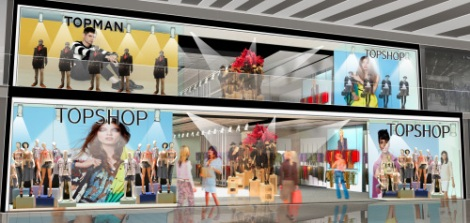 TOPSHOP Houston opening soon