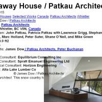 Hadaway House / Patkau Architects