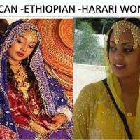 CUTE AFRICAN -ETHIOPIAN -HARARI WOMEN